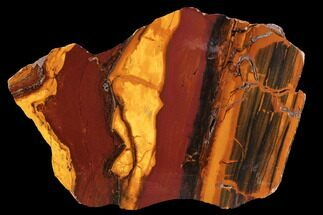"Buy 6.1"" Polished ""Desert Sunset"" Banded Iron - Western Australia - #96241"