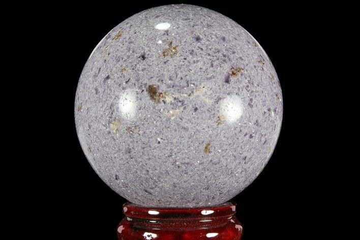 "3.45"" Sparkly, Purple Lepidolite Sphere - Madagascar"