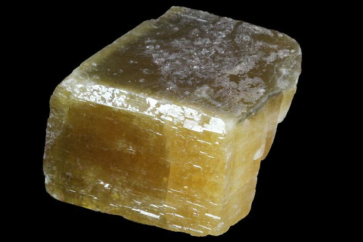 "2.4"" Tabular, Yellow Barite Crystal - China"
