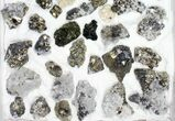 Wholesale Flat - Pyrite, Galena, Quartz, Etc From Peru - 49 Pieces - #97064-2