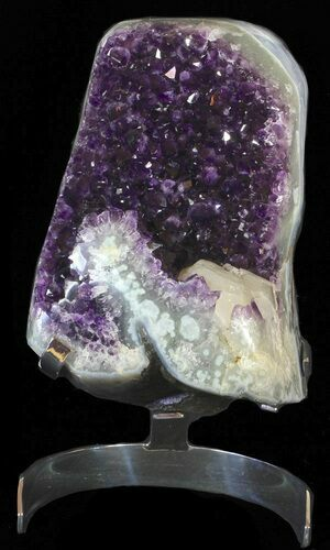 "12"" Amethyst Cluster On Stand - Special Pricing"