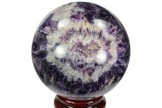 "Buy 2.95"" Polished Chevron Amethyst Sphere - Morocco - #97699"