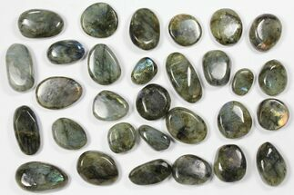 Buy Wholesale Box: Polished Labradorite Pebbles - 1 kg (2.2 lbs) - #90619