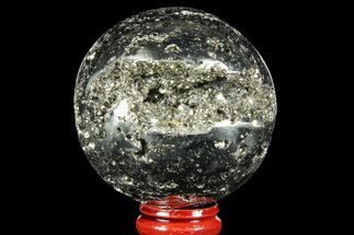 "2.3"" Polished Pyrite Sphere - Peru For Sale, #97994"