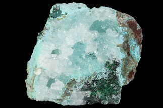 "1.8"" Quartz, Atacamite & Chrysocolla Association - Peru For Sale, #98141"