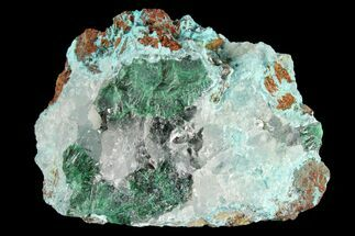 "2"" Quartz, Atacamite & Chrysocolla Association - Peru For Sale, #98153"