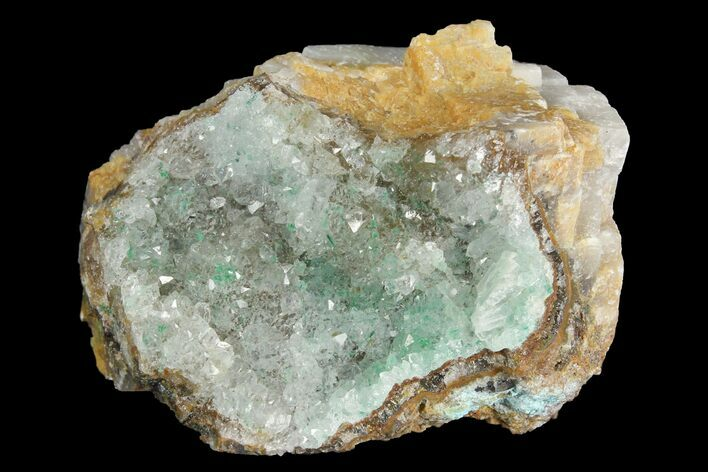 "1.6"" Atacamite, Calcite & Quartz Association - Peru"