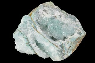 Quartz & Chrysocolla - Fossils For Sale - #98103