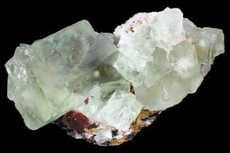 "2.5"" Blue-Green, Cubic Fluorite Crystal Cluster - Morocco For Sale, #98984"