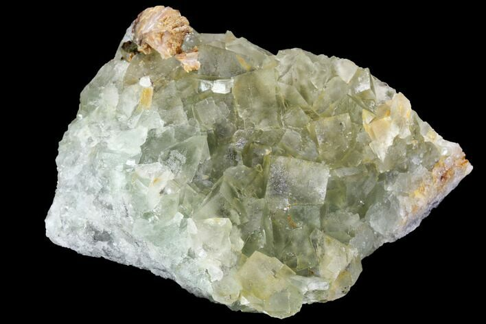 "2.8"" Blue-Green, Cubic Fluorite Crystal Cluster - Morocco"