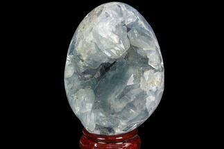 "Buy 3.6"" Crystal Filled Celestine (Celestite) ""Egg"" Geode - Madagascar - #100042"