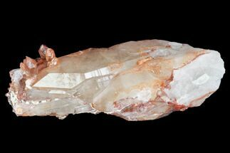 Quartz with Iron Oxide - Fossils For Sale - #101478