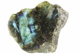 "Buy 3.9"" Wide, Single Side Polished Labradorite - Madagascar - #103003"