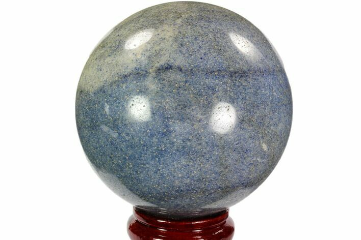 "4.2"" Polished Lazurite Sphere - Madagascar"