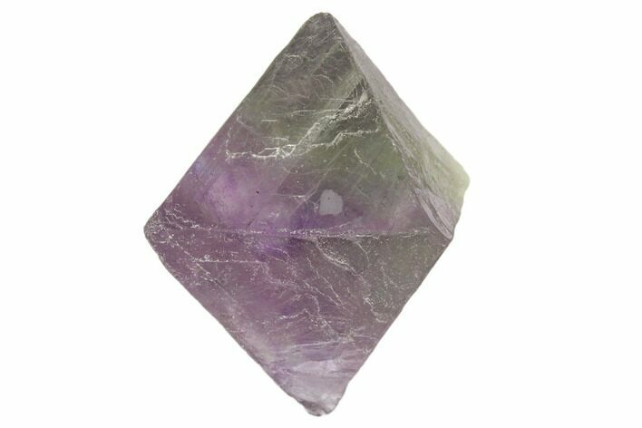 "1.6"" Fluorite Octahedron - Purple/Green"