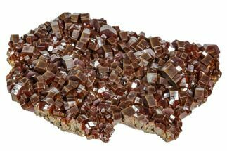 "Buy 4.4"" Large, Ruby-Red Vanadinite Crystal Aggregation - Morocco - #104764"