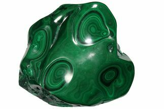 "5.7"" Polished Malachite Specimen - Congo For Sale, #106232"