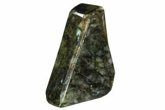 "Buy 5.9"" Flashy, Free-Standing, Polished Labradorite - Madagascar - #106903"