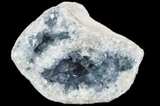 "Buy 7.6"" Celestine (Celestite) Geode (18 Lbs) - Top Quality! - #106690"