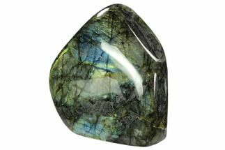 "Buy 7"" Flashy, Free-Standing, Polished Labradorite - Madagascar - #106918"