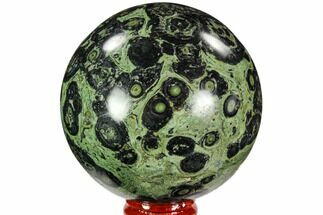 "Buy 3.1"" Polished Kambaba Jasper Sphere - Madagascar - #107278"