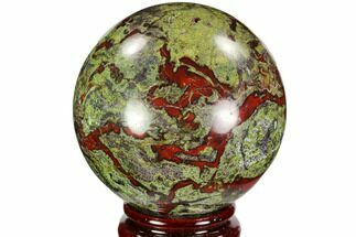 "Buy 2.8"" Polished Dragon's Blood Jasper Sphere - South Africa - #108217"