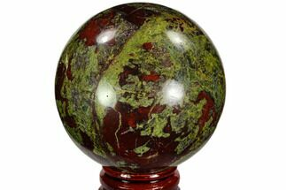 "2.45"" Polished Dragon's Blood Jasper Sphere - South Africa For Sale, #108560"