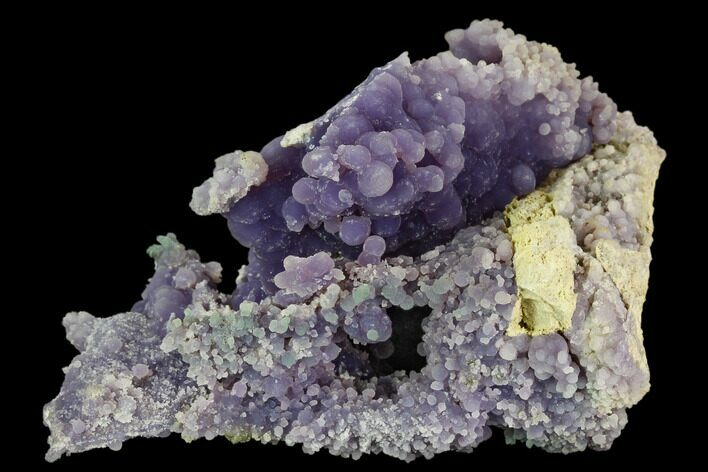 "4.2"" Purple Botryoidal Grape Agate - Indonesia"
