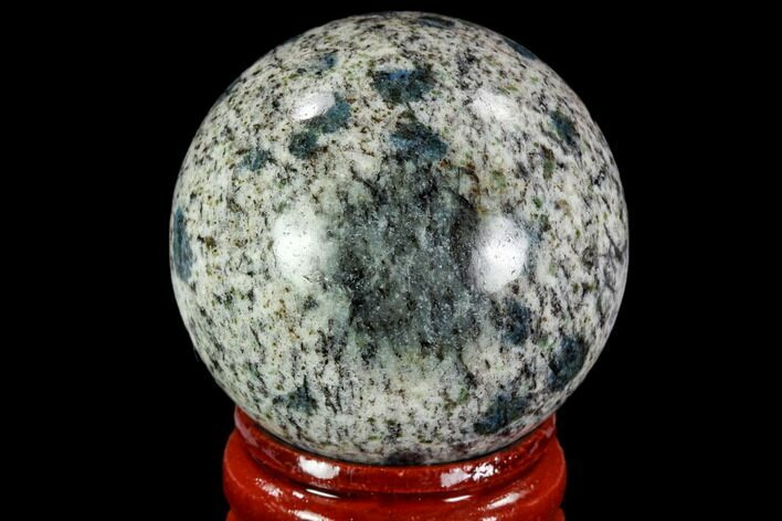 "1.5"" Polished K2 Granite Sphere - Pakistan"