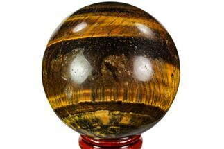 "Buy 2.5"" Polished Tiger's Eye Sphere - Africa - #109999"