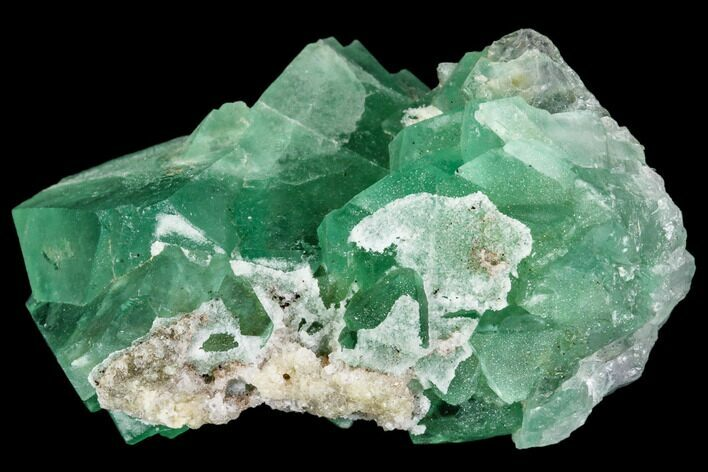 "2.1"" Green Fluorite Crystal Cluster - South Africa"
