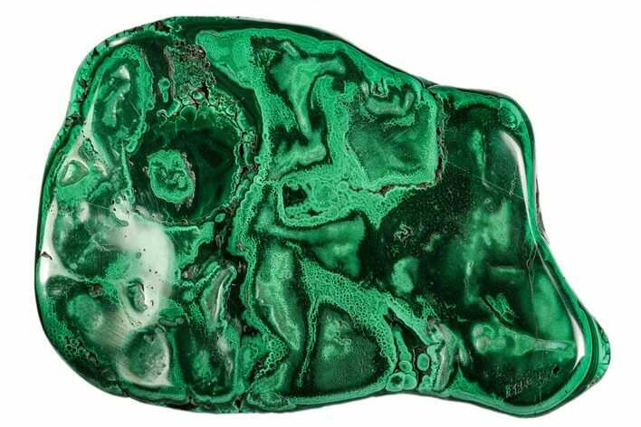 "4.5"" Polished Malachite Specimen - Congo"