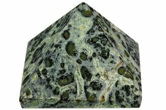 "Buy 1.4"" Polished Kambaba Jasper Pyramid - Madagascar - #112237"