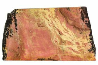 "Buy 4.3"" Polished Rhodonite Slab - Northern B.C. - #112717"
