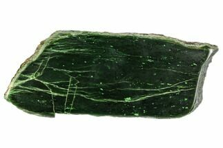 "Buy 6.4""Polished Canadian Jade (Nephrite) Slab - British Colombia - #112735"