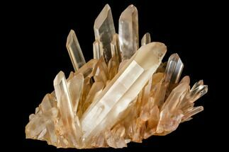 "5.8"" Tangerine Quartz Crystal Cluster - Madagascar For Sale, #112802"