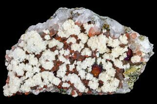 "3.2"" Quartz, Dolomite and Chalcopyrite Association - China For Sale, #112856"