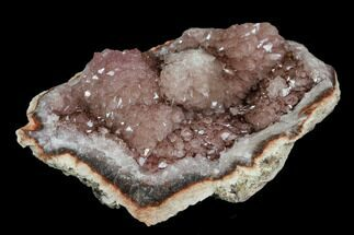 "Buy 2.2"" Pink Amethyst Geode Section - Argentina - #113314"