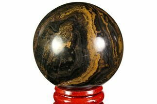 "Buy 1.95"" Polished Stromatolite (Greysonia) Sphere - Bolivia - #113563"