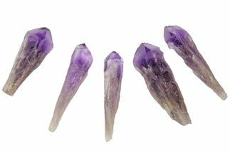 "2-3"" Natural, Amethyst Crystal Point - 1 Point For Sale, #114533"