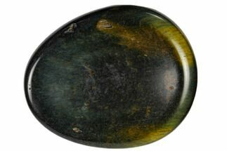 "Buy 2"" Polished Blue Tiger's Eye Worry Stone  - #115366"