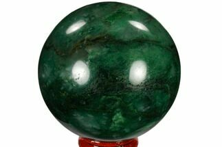 "Buy 2.6"" Polished Swazi Jade (Nephrite) Sphere - South Africa - #115564"