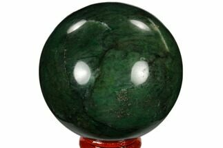 "Buy 2.6"" Polished Swazi Jade (Nephrite) Sphere - South Africa - #115567"