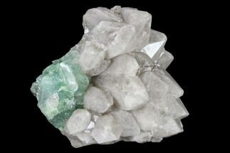 Quartz & Fluorite  - Fossils For Sale - #115497