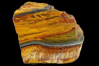 "Buy 3.8"" Marra Mamba Tigers Eye - Mt. Brockman (2.7 Billion Years) - #117175"