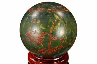 "1.55"" Polished Cherry Creek Jasper Sphere - China For Sale, #116222"