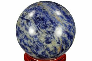 "Buy 1.6"" Polished Sodalite Sphere - Africa - #116146"