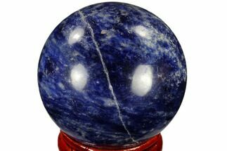"1.6"" Polished Sodalite Sphere - Africa For Sale, #116147"