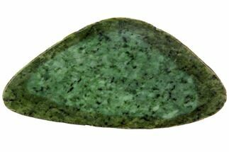 "Buy 7.3"" Polished Canadian Jade (Nephrite) Slab - British Colombia - #117634"