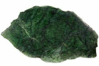 "14.4"" Polished Canadian Jade (Nephrite) Slab - British Colombia For Sale, #117644"
